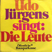 7inch Vinyl Single - Udo Jürgens - Die Leute