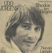 7inch Vinyl Single - Udo Jürgens - Rhodos Im Regen