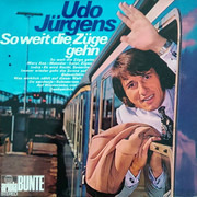 LP - Udo Jürgens - So Weit Die Züge Gehn