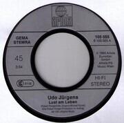7inch Vinyl Single - Udo Jürgens - Lust Am Leben / Ich War Niemals Fort Von Dir