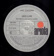Double LP - Udo Jürgens - Udo Live - Ein Mann und seine Lieder