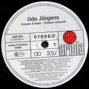 LP - Udo Jürgens - Unsere Kinder - Unsere Zukunft