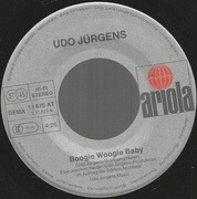 7'' - Udo Jürgens - Boogie Woogie Baby