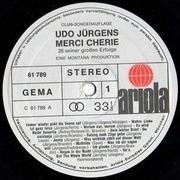LP - Udo Jürgens - Merci Chérie - 28 Seiner Großen Erfolge - Club-Sonderauflage