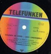 LP - Udo Lindenberg - Daumen Im Wind