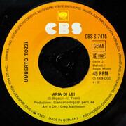 7inch Vinyl Single - Umberto Tozzi - Gloria