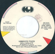 7inch Vinyl Single - Umberto Tozzi - Nell'Aria C'È