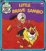 7inch Vinyl Single - Children's Radio Play - Little Brave Sambo - Still Sealed
