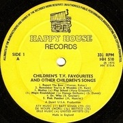 LP - Soundtrack - TV Favourites And Other Childrens Songs