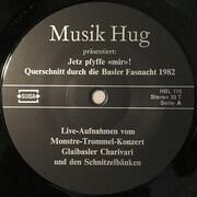 LP - Unknown Artist - Jetz pfyffe mir - Querschnitt durch die Basler Fasnacht 1982