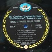 LP - Jack Benny, Bob Hope, Philip Morris... - Radio's Famous Theme Songs