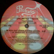 12inch Vinyl Single - Unlimited Touch Featuring Audrey Wheeler - Reach Out (Everlasting Lover)