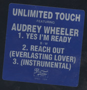 12inch Vinyl Single - Unlimited Touch Featuring Audrey Wheeler - Yes I'm Ready / Reach Out (Everlasting Lover)