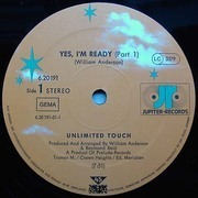 12'' - Unlimited Touch - Yes, I'm Ready