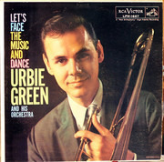 LP - Urbie Green And His Orchestra - Let's Face The Music And Dance