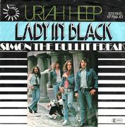 7'' - Uriah Heep - Lady In Black / Simon The Bullit Freak