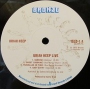 Double LP - Uriah Heep - Live - ORIGINAL UK