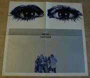 LP - Uriah Heep - Look At Yourself - PINK RIM + POSTER