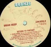 LP - Uriah Heep - Return To Fantasy - UK BRONZE