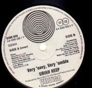 LP - Uriah Heep - ...Very 'Eavy, ...Very 'Umble - Original German, Vertigo Swirl