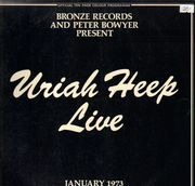 Double LP - Uriah Heep - Live