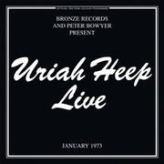 Double CD - Uriah Heep - Live - -2cd-