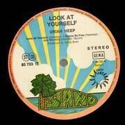 LP - Uriah Heep - Look At Yourself - PINK RIM + POSTER