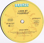 LP - Uriah Heep - Look At Yourself - signed by Bernie Shaw