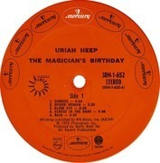 LP - Uriah Heep - The Magician's Birthday