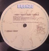 LP - Uriah Heep - Very 'eavy Very 'umble - Gatefold
