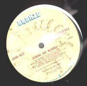 LP - Uriah Heep - Demons And Wizards - UK BRONZE A1/B1