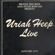 Double LP - Uriah Heep - Live - BOOKLET PINK RIM