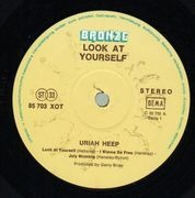 LP - Uriah Heep - Look At Yourself - YELLOW LABELS