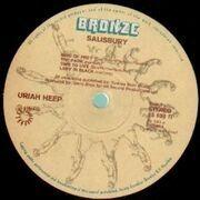 LP - Uriah Heep - Salisbury - Gatefold