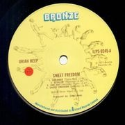LP - Uriah Heep - Sweet Freedom