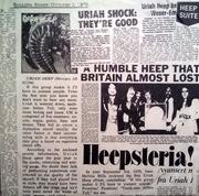 Double LP - Uriah Heep - Live