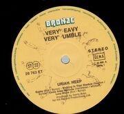 LP - Uriah Heep - Very 'eavy Very 'umble