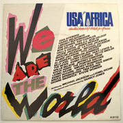 7inch Vinyl Single - USA For Africa - We Are The World