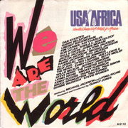 7'' - USA For Africa - We Are The World