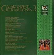 LP - Various Artists - Galakonzert für Millionen 3,, Karajan, Fischer-Dieskau, Eschenbach, Prey..