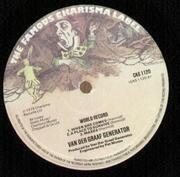 LP - Van Der Graaf Generator - World Record - Original UK Charisma