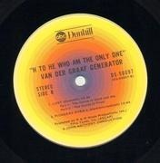 LP - Van Der Graaf Generator - H To He Who Am The Only One