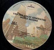 LP - Van Der Graaf Generator - World Record - US MERCURY