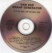 CD - Van Der Graaf Generator - H To He Who Am The Only One