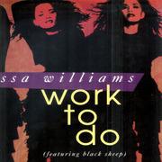 12'' - Vanessa Williams - Work To Do - Promo