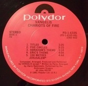 LP - Vangelis - Chariots Of Fire