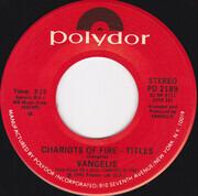 7inch Vinyl Single - Vangelis - Chariots Of Fire