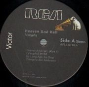 LP - Vangelis - Heaven And Hell