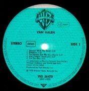 LP - Van Halen - Van Halen