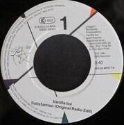 7inch Vinyl Single - Vanilla Ice - Satisfaction